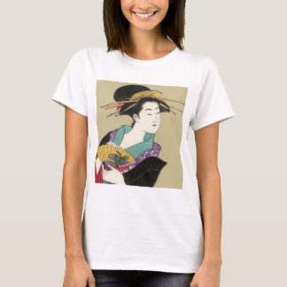 geisha with fan T-Shirt