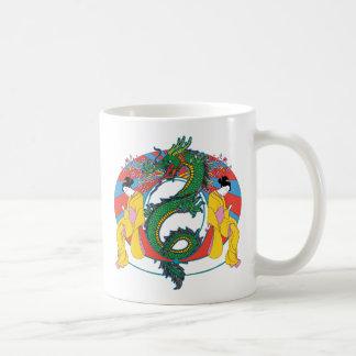 Geishas with Dragon Mug