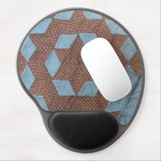 Gel Mousepad - Castle quilt pattern Gel Mouse Mat