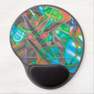 Gel Mousepad Colorful Stained Glass