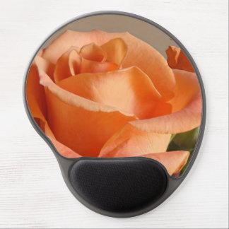 Gel Mousepad Soft Peach Orange Rose