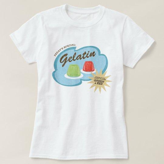 Gelatin in 2 Yummy Flavours Funny Retro Design