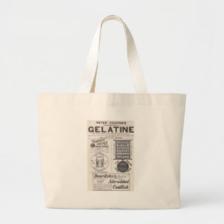 Gelatine, Cod Fish, and more Canvas Bags