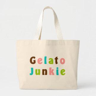 Gelato Junkie Canvas Bags