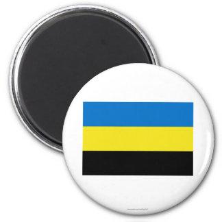 Gelderland Flag 6 Cm Round Magnet