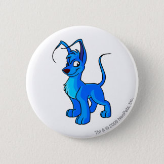 Gelert Blue 6 Cm Round Badge