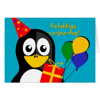 Gelukkige verjaardag! Birthday in Afrikaans Greeting Card