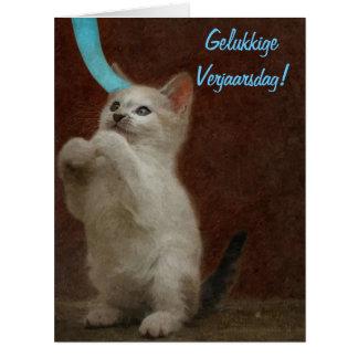 Gelukkige Verjaarsdag! Big Greeting Card