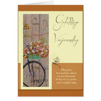 Gelukkige Verjaarsdag Card