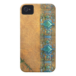 Gem Border Mesoamerican iPhone 4 Case-Mate Case