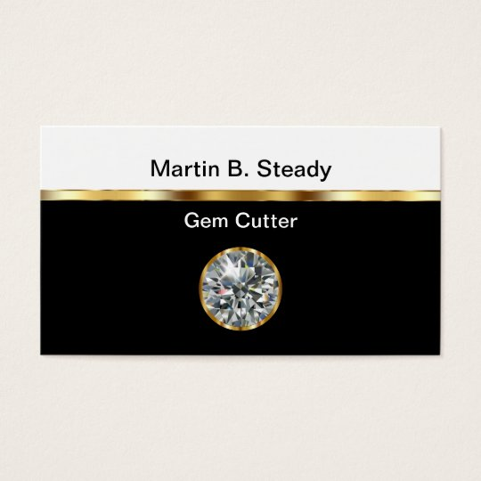 Gem Cutter Business Cards