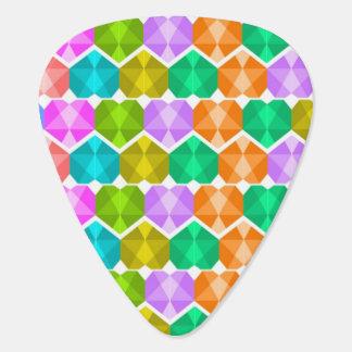 Gem Hearts Guitar Pick