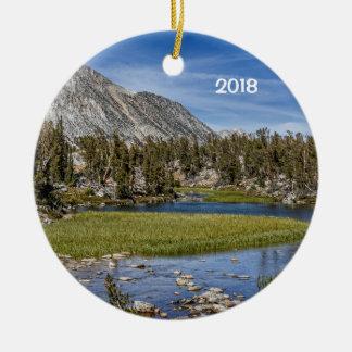 Gem Lakes, California Christmas Ornament