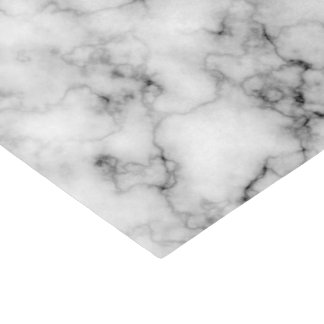 Gem Stone Pattern, Gray / Grey Marble Tissue Paper