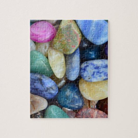 gem stones pattern texture rock nature jigsaw puzzle