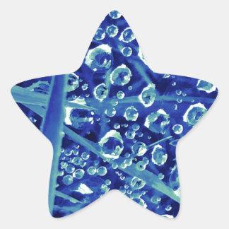 Gemdrops blue star sticker