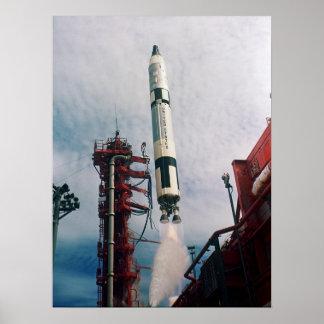 Gemini 11 Launch Poster