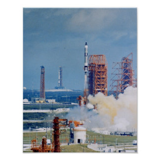 Gemini 11 Launch Poster