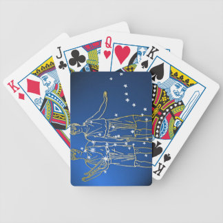 Gemini 2 bicycle playing cards