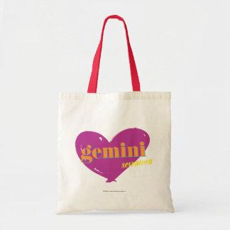 Gemini 2 tote bag