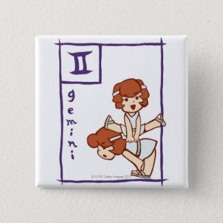 Gemini 3 15 cm square badge