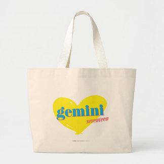 Gemini 3 large tote bag