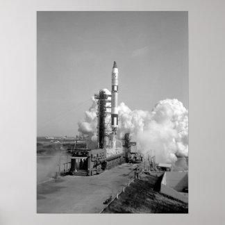 Gemini 5 Launch Print