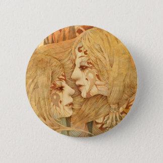 gemini 6 cm round badge
