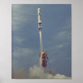 Gemini 8 Launch Print