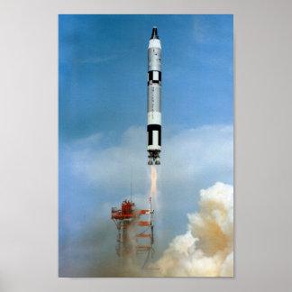 Gemini 8 Launch Poster