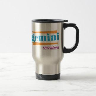 Gemini Aqua Travel Mug