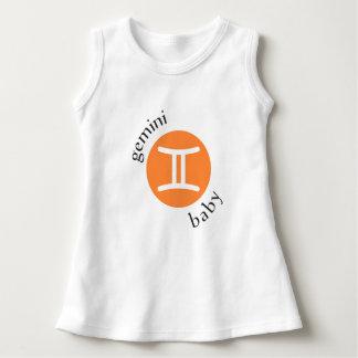 Gemini Baby Symbol Dress