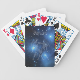 Gemini Bicycle Playing Cards