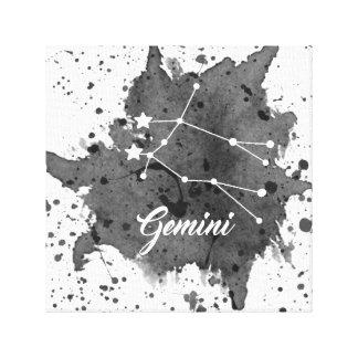 Gemini Black Wall Art