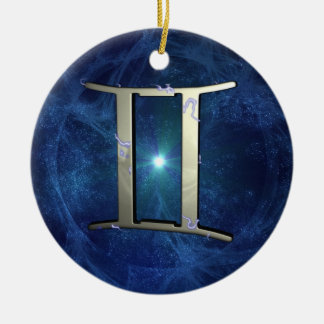 Gemini Christmas Ornament