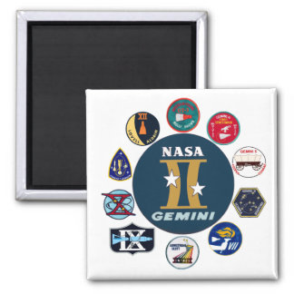 Gemini Commemorative Logo Magnet