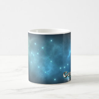 Gemini constellation coffee mug