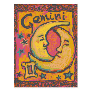 Gemini, Customizable Astrology Products Postcard