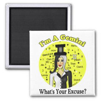 Gemini Excuse Magnet