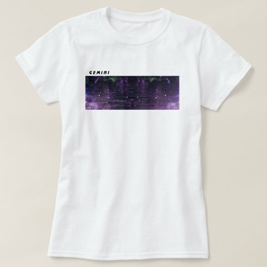 Gemini Glitch Art T-Shirt