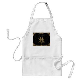 Gemini golden sign standard apron