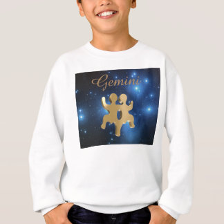 Gemini golden sign sweatshirt