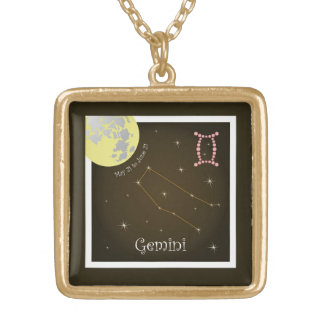 Gemini May 21 tons of June 21 necklace