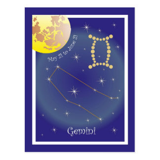 Gemini May 21 tons of June 21 postcard