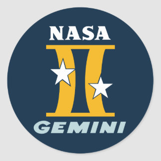 Gemini Mission Sticker