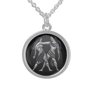 Gemini Sterling Silver Necklace