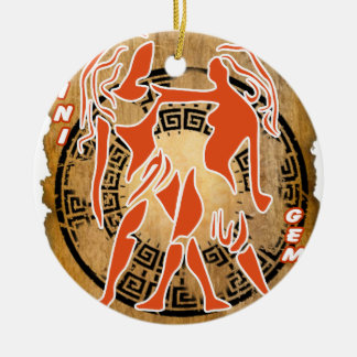 GEMINI PAPYRUS PRODUCTS CHRISTMAS ORNAMENT