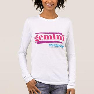 Gemini Pink Long Sleeve T-Shirt