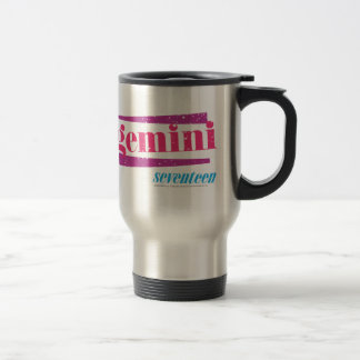 Gemini Pink Travel Mug