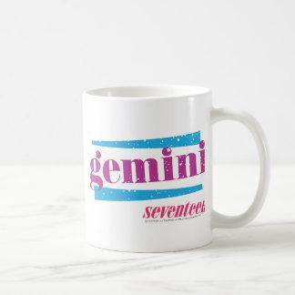 Gemini Purple Coffee Mug
